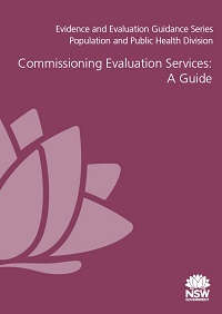 Commissioning Evaluation Services: A Guide