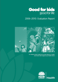 Good for Kids, Good for Life Evaluation Report