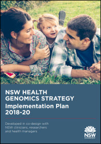 NSW Health Genomics Strategy Implementation Plan 2018-20