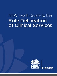 Guide to the Role Delineation of Clinical Services