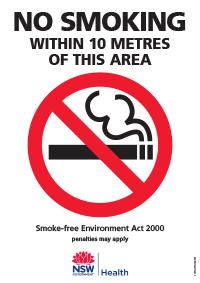Smoke-free signage and resources - Tobacco and Smoking