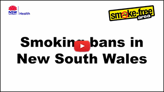 Smoking bans in NSW