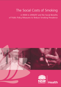 The Social Costs of Smoking 2006-2007