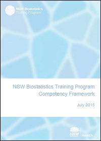 NSW Biostatistics Training Program Competency Framework
