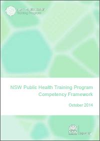 NSW Public Health Training Program Competency Framework