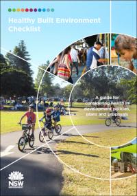 Healthy Urban Development Checklist