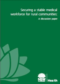 Securing a Stable Medical Workforce for Rural NSW Communities