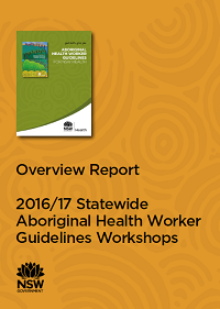 Overview Report: 2016/17 Statewide Aboriginal Health Worker Guidelines Workshops