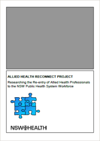 Allied Health ReConnect Program Framework