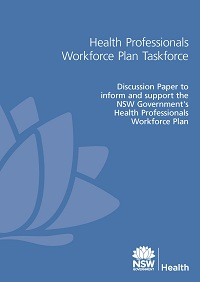Health Professional Workforce Plan Taskforce Discussion Paper