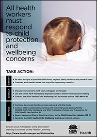 Identify, Consult, Respond Child Protection Poster (Child)