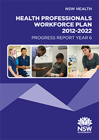 Health Professionals Workforce Plan Progress Report Year 6